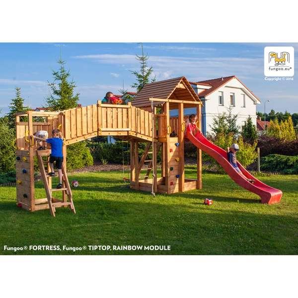 Детска площадка Fortress /Rainbow/Tiptop
